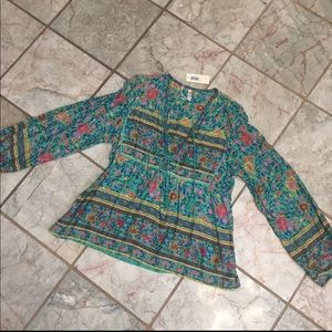 Spell & The Gypsy Collective Tops - Spell And The Gypsy Collective Folktown Blouse